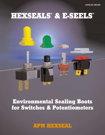 HEXSEALS® & E-SEELS® - Electronic Fasteners Inc
