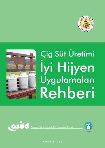 Çiğ Süt Üretimi İçin - Samsun Tarım İl Müdürlüğü