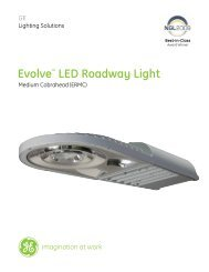 Evolve™ LED Roadway Light - Commercial Lighting Products