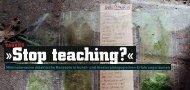 Stop teaching?« - (HKS), Ottersberg