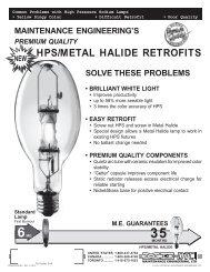 HPS/Metal Halide Retrofit Lamps - Sandblighting.com
