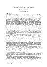 Dr. Keresztury Gábor - Farkasné B. Mária - Boka/kar index az ...
