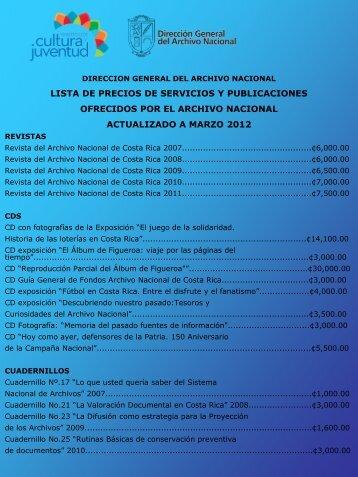Presentación de PowerPoint - Archivo Nacional de Costa Rica