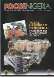 September 2007 pdf - TOTAL Nigeria