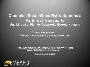 EMBARQ HIDALGO CIUDADES SOSTENIBLES Y PLAN DE ...