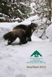 Annual Report 2011/12 - Alberta Conservation Association