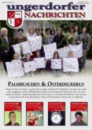 PALMBUSCHEN & OSTERDECKERLN - Gemeinde Ungerdorf