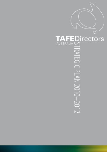 STRATEGIC PLAN 2010–2012 - TAFE Directors Australia