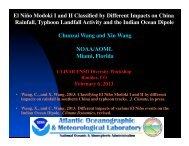 View PowerPoint presentation - US CLIVAR