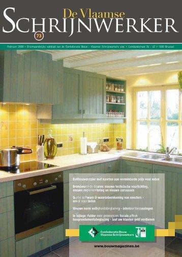 Vlaamse Schrijnwerker_Februari_2008.pdf - Magazines Construction