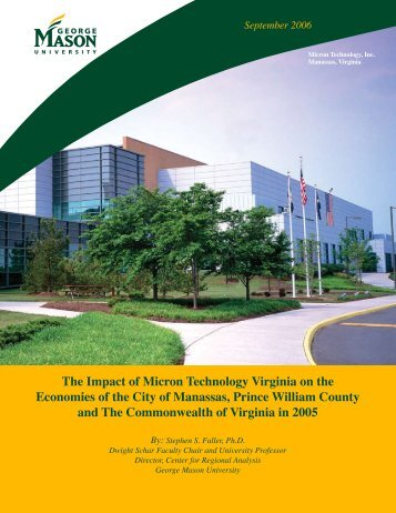 The Impact of Micron Technology Virginia on the Economies of the ...