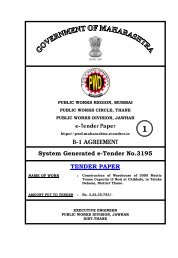 B-1 AGREEMENT System Generated e-Tender No ... - e-Tendering