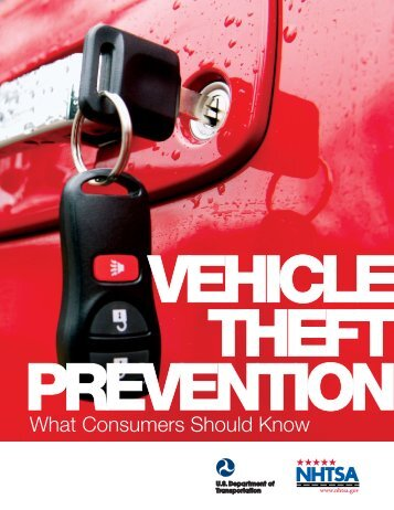 What Consumers Should Know - National Highway Traffic Safety ...