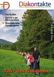 Nr. 28 - 3/2012 - Diakone Österreichs