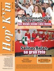 Salinas Balan, su gran reto