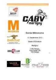Le Métronome - Martigny - FVA