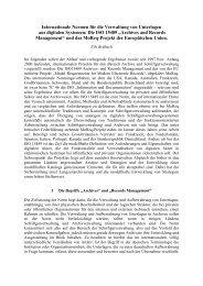 Internationale Standardkataloge für den Bereich ...
