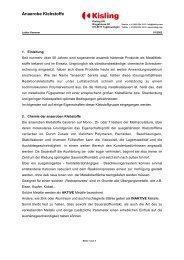 Anaerobe Klebstoffe - Kisling AG