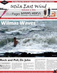 Utila East Wind - November 2005 Edition - AboutUtila.com