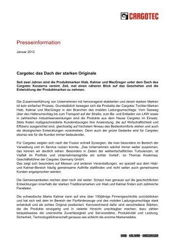 """Pressemitteilung """"Dach der Originale"""""""