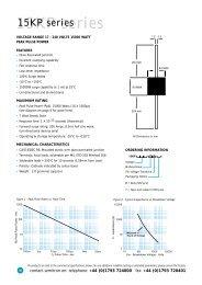 15KP series - SINUS Electronic