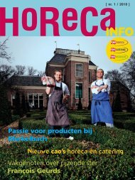 nr. 1 / 2010 - FNV Horecabond