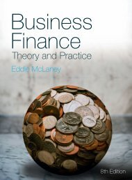 Business finance : theory and practice