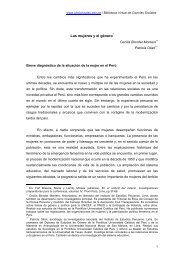 Las mujeres y el género - Cholonautas