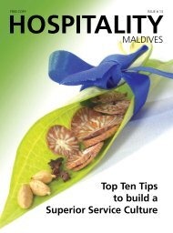 Top Ten Tips to build a Superior Service Culture - Hospitality Maldives