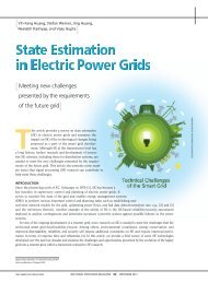 State Estimation in Electric Power Grids: Meeting New