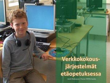 Verkkokokoukset (Antti Huttunen) - Turku