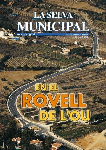 PORTADA (Pág. 1) - Inici - Ajuntament de la Selva del Camp