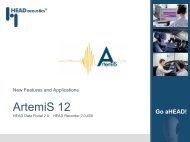 What's new in ArtemiS 12 - HEAD acoustics