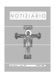 Frati Minori dell'Emilia-Romagna Notiziario -1 - Provincia di Cristo ...