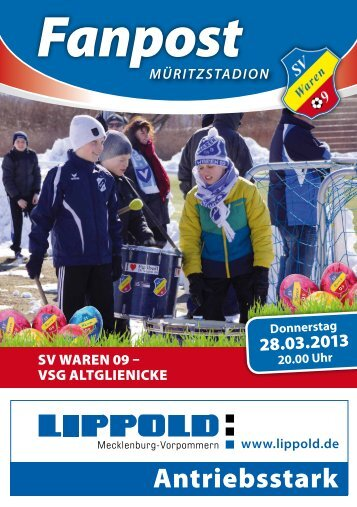 Die Ausgabe im PDF-Format. - SV Waren 09