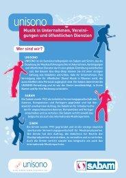 gungen und öffentlichen Diensten - SABAM.be