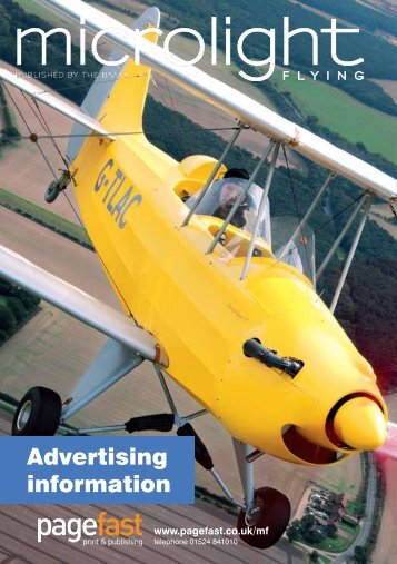 Advertising information - Pagefast Print & Publishing