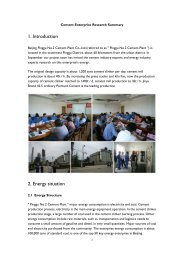 1. Introduction 2. Energy situation - REEEP Toolkits