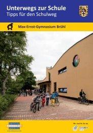 Der Schulweg zum MEG - Max Ernst Gymnasium