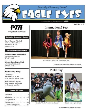 to download the April/May 2013 issue of Eagle Eyes - Eastvalley ...