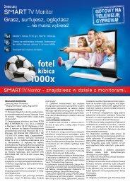 "REGULAMIN KONKURSU ""Samsung Smart TV monitor – Wygraj fotel"
