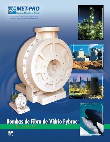 Bombas de Fibra de Vidrio Fybroc® - Pristine Water Solutions Inc.