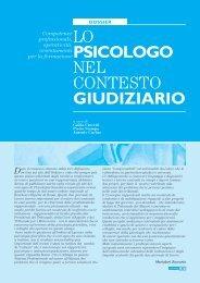 Dossier Lo psicologo nel contesto giudiziario - Ordine degli ...
