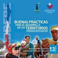 Buenas Prácticas para el Desarrollo de los Territorios - Territorio Chile