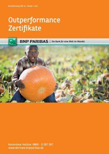 Outperformance Zertifikate - BNP Paribas