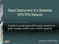 MoDOT RTK GPS Network