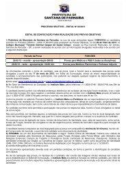 PROCESSO SELETIVO – EDITAL Nº 02/2013 ... - Instituto Mais