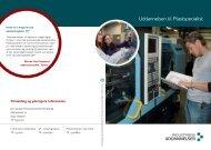 Uddannelsen til Plastspecialist - Plastindustrien