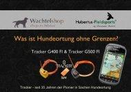 Hundeortung ohne Grenzen mit Tracker - Hubertus Fieldsports