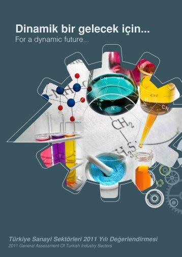 Kimya Sektörü - Bilim, Sanayi ve Teknoloji Bakanlığı